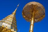 Templo de doi suthep na tailândia — Fotografia Stock