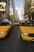 Taxi à new york — Photo