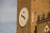 Torre Mangia in Siena, Italy — Stock Photo