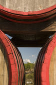 A barrels of wine — Foto de Stock