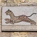 ������, ������: Byzantine mosaic representing a leopard running