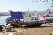 Fishing port in Istanbul — Stock Photo