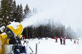Snowgun — Stock Photo