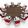 Business meeting at round table — Stock Photo #10618848