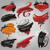 Halloween banners collection. — Stock Vector