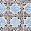 Portuguese azulejo - Stock Photo