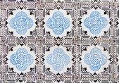 Portuguese azulejo — Stock Photo