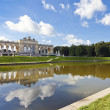 Gloriette Vienna with Pond and blue sky — Stock Photo