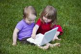 Babies & Information Technology — Stock Photo