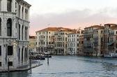 Canal grande de veneza — Fotografia Stock