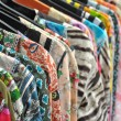 Colorful tops for ladies — Stock Photo #10236440