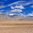 Stock Photo: Mountain desert with pattern of cloud