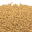 Pile of fenugreek seeds — Stock Photo
