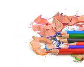 Kolor ołówek z goli — Zdjęcie stockowe