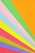 Colorful pastel papers — Stock Photo