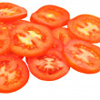 Slices of red tomato — Stock Photo