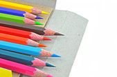 Set of pencil colors — Stock Photo