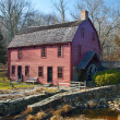 Stock Photo: Gilbert Stuart Home and Snuff Mill