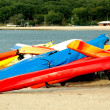 Colorful Canoes — Stock Photo #10472425