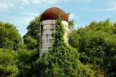 Old Silo — Stock Photo