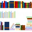 Series of books - Stock Vector
