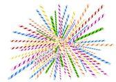 Littered straws — Stock Vector