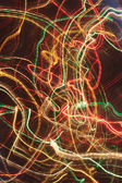 Luminous abstract lines in motion — Stock Photo