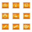 Glossy icon set — Stock Vector #10625994
