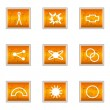 Glossy icon set — Stock Vector #10626015