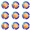 Royalty-Free Stock : Glossy icon set