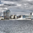 Oslo opera view (HDR) — Stock Photo #10266586