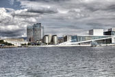 Oslo opera view (HDR) — Stock Photo