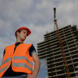Stockfoto: Construction supervisor