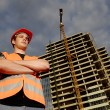 Construction supervisor — Stock Photo