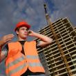 Construction supervisor — Stock Photo