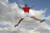 Jumpin' — Stock Photo
