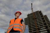 Bauleiter — Stockfoto