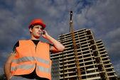 Stavbyvedoucí — Stock fotografie