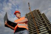 Supervisor de la construcción — Foto de Stock