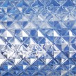 Stock Photo: Blue glass texture