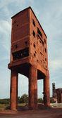 Ancien bâtiment de brique — Photo