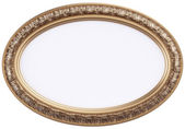 Classic oval frame — Stock Photo
