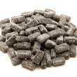 Sugar coated liquorice — Stock Photo