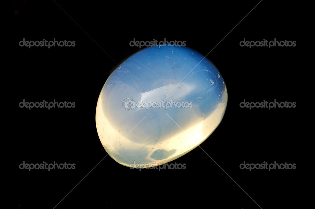 Opalite on a black background — Stock Photo #10282937