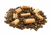 Cloves and Cinnamon — Stock Photo