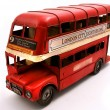 Red Double Decker toy — Stock Photo #10311885