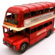Stock Photo: Red Double Decker toy