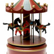 Wooden toy carousel — Stock Photo #10323055