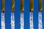 água fluindo — Foto Stock