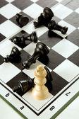 шахматы игра 2 — Стоковое фото